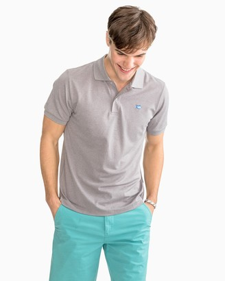 Southern Tide Jack Heather Performance Pique Polo Shirt