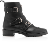 Tabitha Simmons Alex Buckled Suede Boots