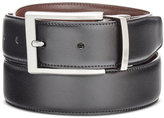 Perry Ellis Men's Big & Tall Bonni G Reversible Leather Belt