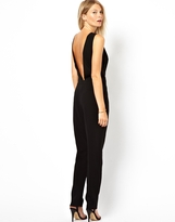 Asos Chic Jumpsuit with Open Back