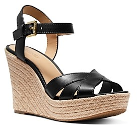 MICHAEL Michael Kors Women's Suzette Jute Wedge Heel Sandals