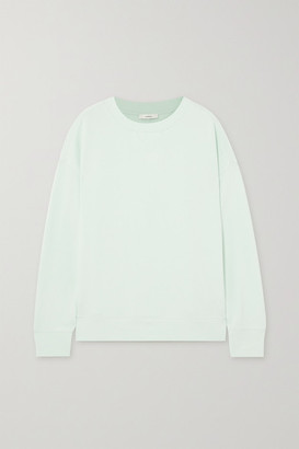 Vince Cotton-jersey Sweatshirt - Green
