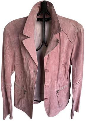 Oakwood Pink Leather Jackets