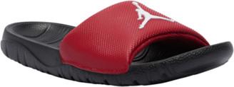 Jordan Break Slide Shoes - Gym Red / White Black