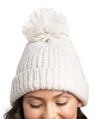 Lemon Women's Snow Storm Hat with Pom
