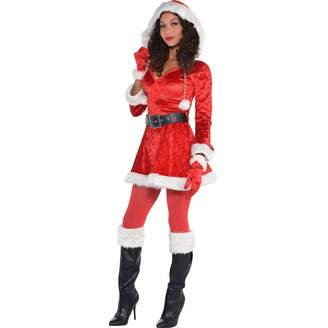 Amscan Sassy Red Santa Costume for Women Christmas Costume Large with Included Accessories