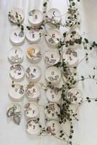 Anthropologie Karen Guethlein Monogrammed Garland Ring Dish