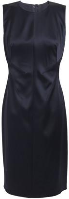 Elie Tahari Dorit Satin-crepe Dress