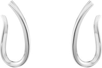 Georg Jensen Infinity Earrings - Sterling Silver