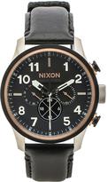 Nixon Safari Dual Time Leather