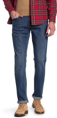 Hudson Blake Zip Fly Straight Leg Jeans