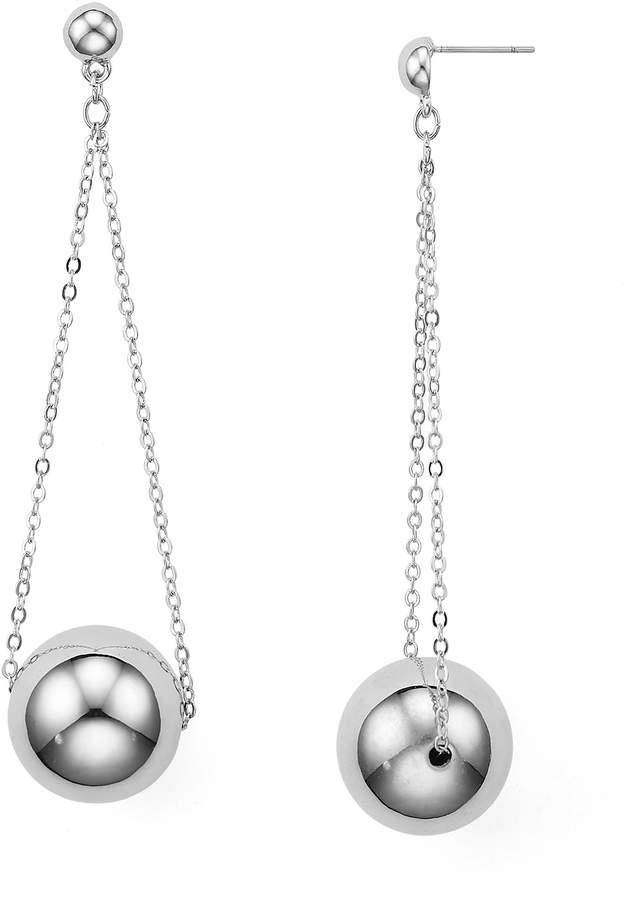Aqua Noelle Chain Ball Drop Earrings - 100% Exclusive