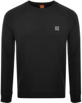 BOSS ORANGE Wheel Sweatshirt Black