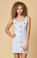 MinkPink Sugar Safari Denim Dress