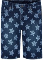 Levi's Girls 7-16 Supersoft Star Jean Bermuda Shorts