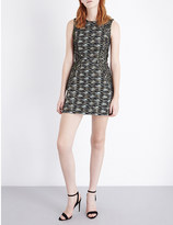 French Connection City Camo woven dress