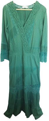 BA&SH Green Cotton Dresses