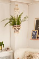 Urban Outfitters Shell Hanging Planter
