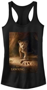 Fifth Sun Disney Juniors' Lion King Simba Poster Ideal Racerback Tank Top