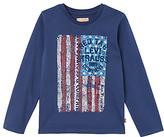 Levi's Boys' Long Sleeve Pigmy T-Shirt, Dark Blue