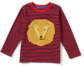 Joules Little Boys 3-6 Chomp Lion Roar Striped Jersey Top