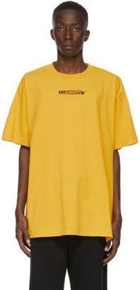 Off-White Yellow Hand Painters T-Shirt