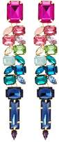 Jardin Strass link statement earrings