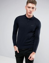 Armani Jeans Knit Polo Regular Fit in Navy