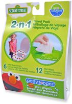 Hamco Neat Solutions Sesame Street Potty Toppers & Wet Wipes
