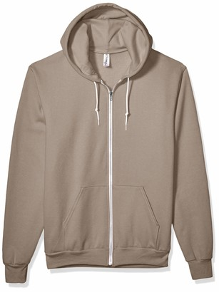 Marky G Apparel Men's Flex Fleece Full-Zip Hooded Sweatshirt Jacket