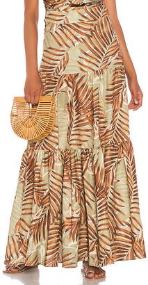 PatBO Palmeira Maxi Skirt