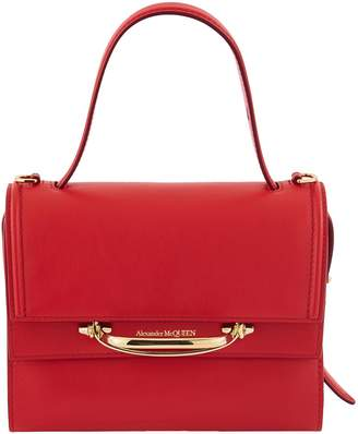Alexander McQueen Double Flap small bag in leather