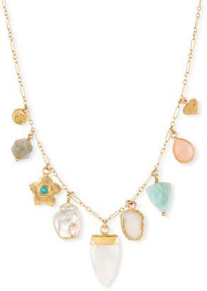 Chan Luu Graduating Multi-Charm Necklace