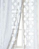 """Dian Austin Couture Home Urban Cut Curtain, 84"""""""