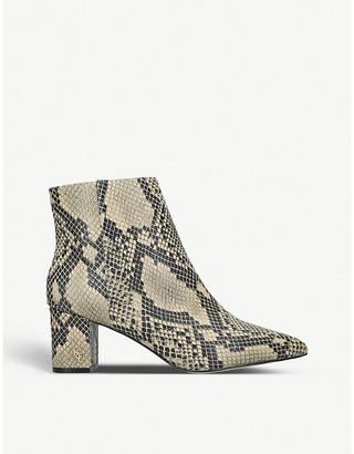 Kurt Geiger London Burlington leather ankle boots