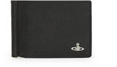 Vivienne Westwood Kent Wallet With Clip 33422 in Black