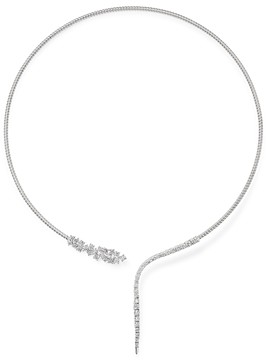 Bloomingdale's Diamond Collar Necklace in 14K White Gold, 2.10 ct. t.w. - 100% Exclusive