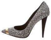 Giuseppe Zanotti Crystal-Embellished Pointed-Toe Pumps