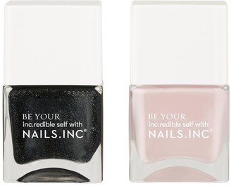 Nails Inc Super Sexy Strong Duo - Silhouette/Power Suits You