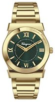 Salvatore Ferragamo Women's FI1040015 Vega Gold-Plated Stainless Steel Watch