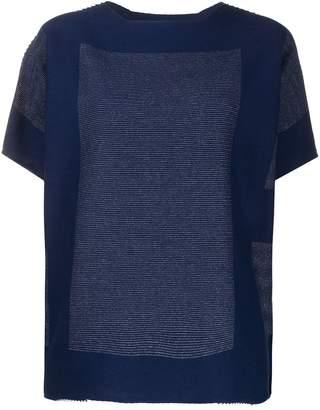 Issey Miyake stitch detailed boxy T-shirt