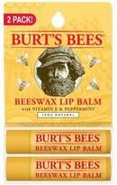 Burt's Bees® Lip Balm - Beeswax - 2ct
