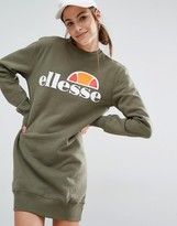Ellesse Sweat Dress With Front Logo