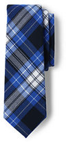Classic Kids Plaid To Be Tied Tie-Clear Blue Plaid