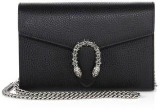 Gucci Dionysus Leather Mini Chain Bag