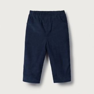 The White Company Cord Trousers, Navy, 0-3mths