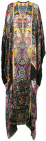 Roberto Cavalli allover print kaftan dress - women - Silk - 42