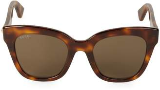 Gucci 50MM Butterfly Sunglasses