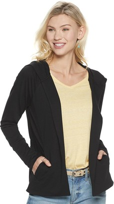 Sonoma Goods For Life Women's Hooded Completer Cardigan