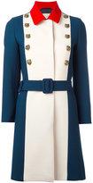 Gucci a-line coat - women - Viscose/Wool - 44